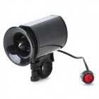 6-Alarm Sound Bicycle Horn with Mount - Black (1*6F22 9V/100dB)