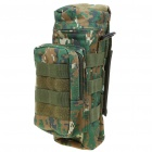 Military Camouflage Canvas Water Bottle Bag