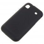 Protective PVC Backside Case for Samsung i9000 Galaxy S - Black