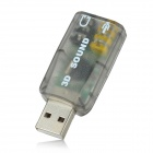 USB 3D Sound Adapter (Color Assorted)