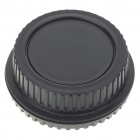 Camera Body + Rear Lens Cap Cover Set for Canon