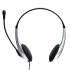 Deluxe VOIP Headset with Microphone (Random Color)