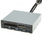"""3.5"""" Internal PCI-E to USB 3.0 Host + All-in-1 Card Reader Combo"""
