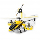 Rechargeable 4-CH R/C Helicopter w/ Gyroscope - Yellow + Black (IR Remote/6 x