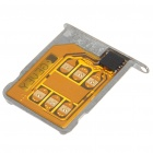 Turbo Unlock SIM Card with SIM Card Tray Holder for Iphone 4 4.1 to 4.3