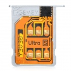 Gevey Supreme Unlock Sim Card with Card Tray Holder for Iphone 4