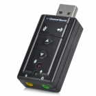 C-Media Virtual 7.1-Channel USB 2.0 Sound Card Adapter Dongle