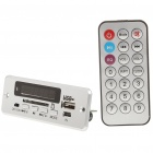 """1.5"""" LED MP3 Player Module with Remote Controller/FM/USB/SD (3.7V)"""