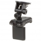 """F185CK 3MP Wide Angle Car DVR Camcorder w/ 4-LED IR Night Vision/SD Slot (2.5"""" TFT LCD)"""