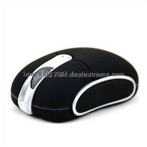 Compact Wireless Mouse w/ Dock
