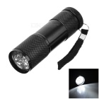 Compact 9 LEDs Flashlight