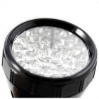 28 LED Flashlight Black