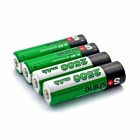 Soshine 1.2V AA 2500mAh Batteries - Green + White (4PCS)