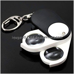 1 LED With 2 Magnifiers Black брюки blukids blukids bl025ebaypq5