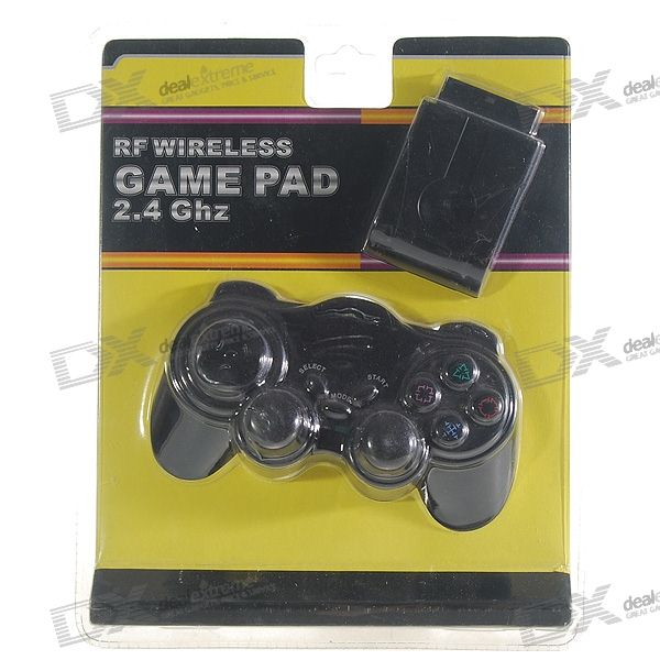 PS2 RF Wireless Shock Controller