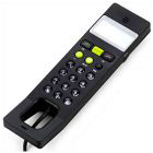 USB Volp Phone With Dot Matrix Lcd Black