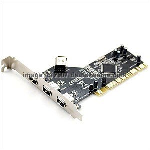 Firewire 1394 PCI Card NEC delonghi fh 1394 white