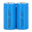 LIR 3.6V CR123A Batteries (2-Pack)