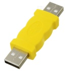 USB-A macho a adaptador macho - amarillo