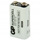 GP supercell 9V batteri - vit (aka 1604S / 6F22)