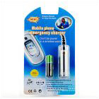 Mobile Phone Emergency Charger Silver