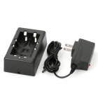 DSD 18650 CR123A Charger Black