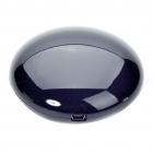 Cute Cobblestone Shaped USB Powered Resonance Speaker - Black