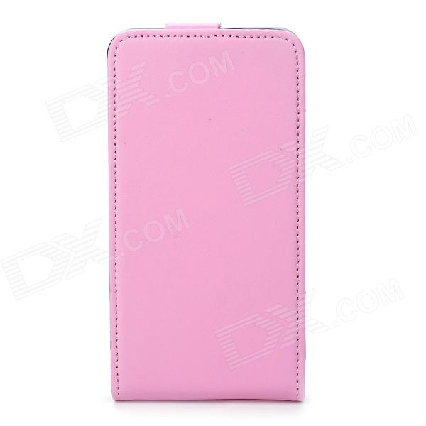 Durable Leather Protective Case + Screen Protector for Samsung I9100 S2 - Pink