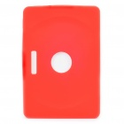 Protective Silicone Back Case for Samsung P7100 / P7110 - Red