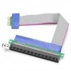 PCI-E 1X to 16X Riser Card Extension Cable - Multicolored (15.5cm)