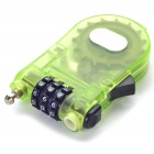 ABS + Steel Resettable Combination Number Lock (Random Color)