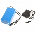 9800mAh 12.6V Rechargeable Emergency Power Li-ion Battery for CCTV Devices