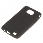 Stylish Protective PVC Back Case w/ Screen Guard for Samsung i9100 Galaxy S2 - Black