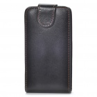 Quality Protective PU Leather Case for HTC Sensation - Black