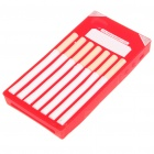 Fashion Cigarette Style Protective Soft Silicone Case for Iphone 4 - Red