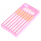 Fashion Cigarette Style Protective Soft Silicone Case for Iphone 4 - Pink
