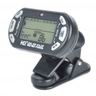 "1.4"" Backlit LCD Clip-On Guitar Metronome Tuner (1 x CR2032)"