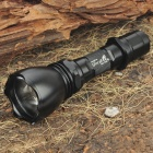 UltraFire M3-T60 XM-LT6 5-Mode 1200-Lumen White LED Flashlight - Black (1 x 18650)