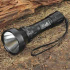 UltraFire AK-T60 XM-LT6 5-Mode 1200-Lumen White LED Flashlight with Strap - Black (1 x 18650)