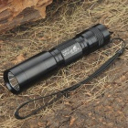 UltraFire C6-T60 XM-LT6 5-Mode 910-Lumen White LED Flashlight with Strap - Black (1 x 18650)