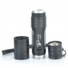 UltraFire V6-T60 XM-LT6 5-Mode 975-Lumen White LED Flashlight with Strap - Black (1 x 18650)