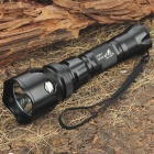 UltraFire M3-T60 XM-LT6 3-Mode 910-Lumen White LED Flashlight with Strap - Black (1 x 18650)