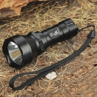 UltraFire AB-T60 XM-LT6 5-Mode 910-Lumen White LED Flashlight with Strap - Black (1 x 16340)