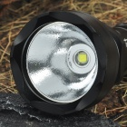 UltraFire AB-T60 5-Mode 910-Lumen White LED Flashlight with Strap - Black (1 x 16340)