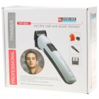 Rechargeable Hair Trimmer - Black + White (AC 220~240V)