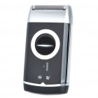 Rechargeable Single Blade Shaver Razor w/ Trimmer (AC220V/2-Flat-Pin Plug)