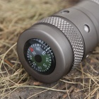 7.2V Xenon Cop 2CR123A Compass Flashlight