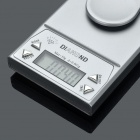 "1.2"" LCD Portable Pocket Precision Digital Scale with Calibration Weight - 10g/0.001g (4 x AAA)"