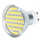 GU10 4.5W 60x3528 SMD LED 240-Lumen 3500K Warm White Light Bulb (85~250V)