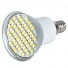 E14 4.5W 60x3528 SMD LED 240-Lumen 6500K White Light Bulb (220~240V)